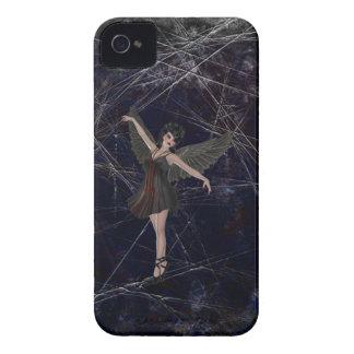 Caso gótico del iPhone 4 del ángel Case-Mate iPhone 4 Coberturas