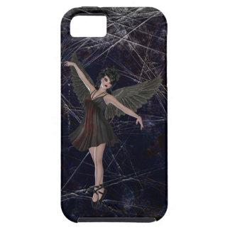 Caso gótico del iPhone 5 del ángel iPhone 5 Case-Mate Funda