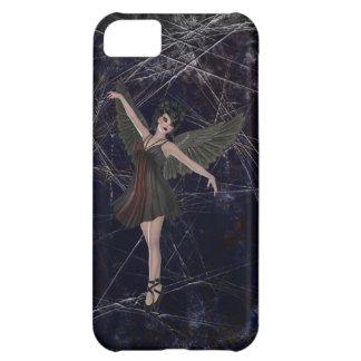 Caso gótico del iPhone 5 del ángel