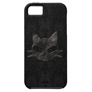 Caso gótico del iPhone 5 del mún negro del gatito iPhone 5 Case-Mate Protectores