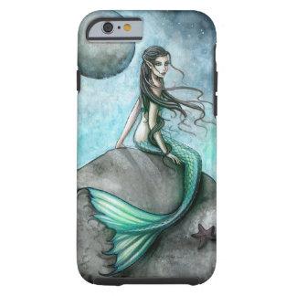 Caso gótico del iPhone 6 de la sirena del arte de Funda De iPhone 6 Tough