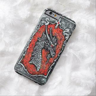 Caso gótico del iPhone 6 del dragón Funda Para iPhone 6 Barely There