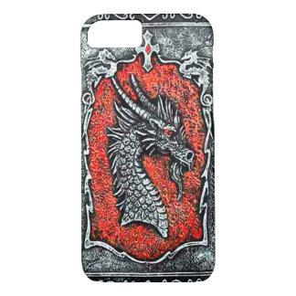 Caso gótico del iPhone 7 del dragón Funda iPhone 7
