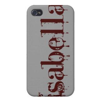 Caso gótico del iPhone de Isabel iPhone 4/4S Funda