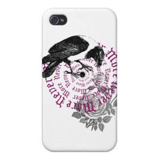 Caso gótico del iphone del cuervo iPhone 4 carcasas