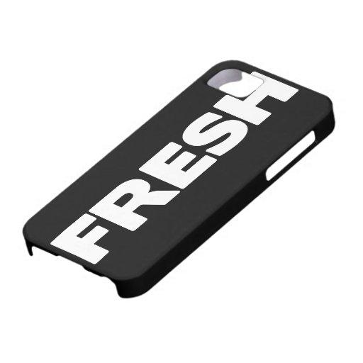 Caso grande del iPhone de la boca 4g (FRESCO) iPhone 5 Case-Mate Cárcasas