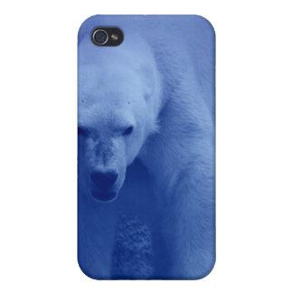 Caso grande del iPhone del oso polar iPhone 4 Carcasa
