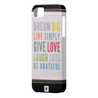 Caso grande ideal del iPhone 5/5S de Barely There Funda Para iPhone SE/5/5s