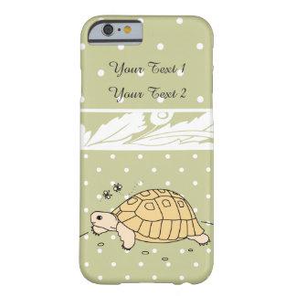 Caso griego adaptable del iPhone de la tortuga Funda Barely There iPhone 6