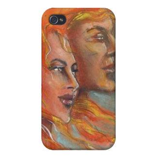Caso griego de Iphone 4 de la mitología de dios y  iPhone 4 Cárcasa