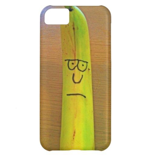 Caso gruñón de Iphone 5 del plátano Funda Para iPhone 5C