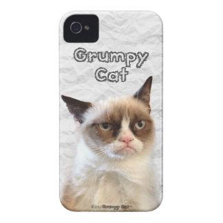 Caso gruñón del iPhone 4/4S de Cat™ Funda Para iPhone 4