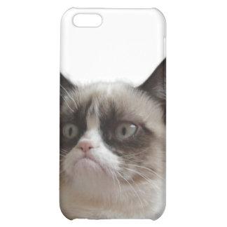 Caso gruñón del iPhone 4 del gato