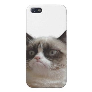 Caso gruñón del iPhone 4 del gato iPhone 5 Protector