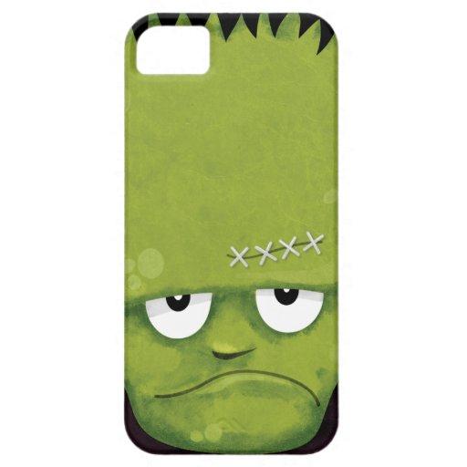 Caso gruñón del iPhone 5 de Frankenstein iPhone 5 Carcasas
