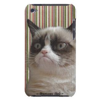 """Caso gruñón del tacto de iPod del """"resplandor Cubierta Para iPod De Barely There"""