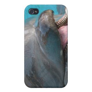 Caso hablador del iPhone 4 del delfín iPhone 4 Protector