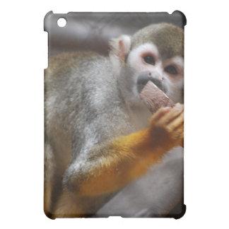 Caso hambriento del iPad del mono de ardilla