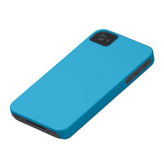 Caso hawaiano de Iphone 4/4S del azul de océano Funda Para iPhone 4