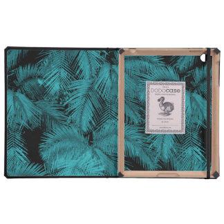 Caso hawaiano del iPad de DODOcase de las palmas iPad Funda