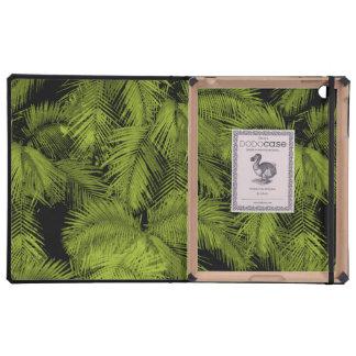 Caso hawaiano del iPad de DODOcase de las palmas iPad Fundas