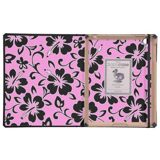 Caso hawaiano del iPad de DODOcase del hibisco de iPad Cárcasa