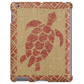 Caso hawaiano del iPad de la tortuga del Tapa de Funda Para iPad