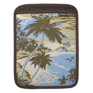Caso hawaiano del iPad del carrito de la bahía de Funda Para iPads