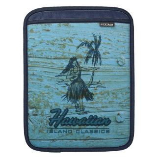Caso hawaiano del iPad del carrito de la cabaña de Mangas De iPad