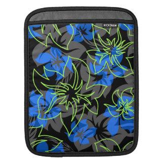 Caso hawaiano del iPad del carrito del hibisco de Funda Para iPads