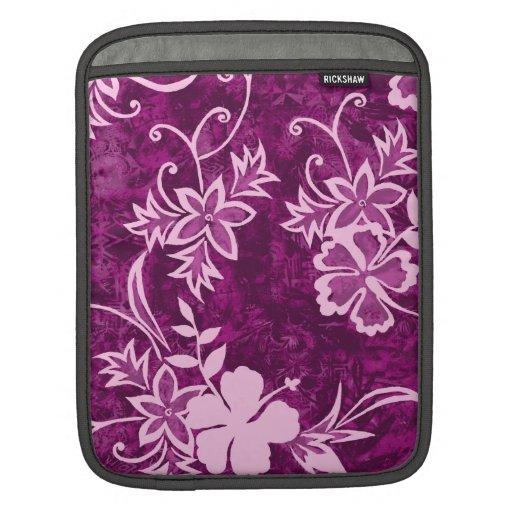 Caso hawaiano del iPad del carrito del hibisco de Mangas De iPad