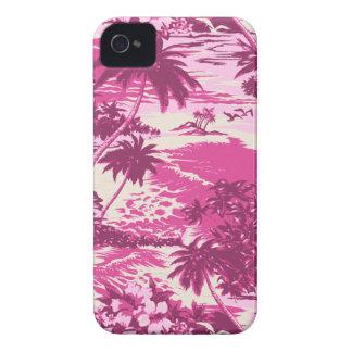 Caso hawaiano del iPhone 4 de la bahía de Napili Case-Mate iPhone 4 Carcasa