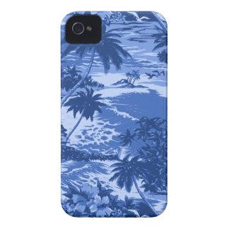 Caso hawaiano del iPhone 4 de la bahía de Napili iPhone 4 Protectores