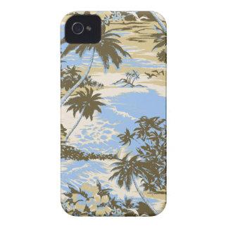 Caso hawaiano del iPhone 4 de la bahía de Napili iPhone 4 Carcasa