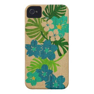 Caso hawaiano del iPhone 4 de la tabla hawaiana Case-Mate iPhone 4 Protector
