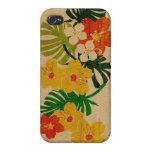 Caso hawaiano del iPhone 4 de la tabla hawaiana de iPhone 4 Carcasa