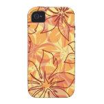 Caso hawaiano del iPhone 4 del ambiente de Olowalu Vibe iPhone 4 Carcasas