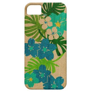 Caso hawaiano del iPhone 5 de la tabla hawaiana Funda Para iPhone 5 Barely There