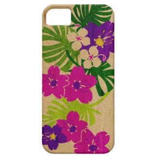 Caso hawaiano del iPhone 5 de la tabla hawaiana iPhone 5 Fundas