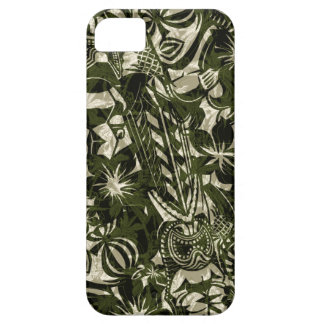 Caso hawaiano del iPhone 5 del comerciante de Tiki iPhone 5 Coberturas