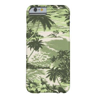 Caso hawaiano del iPhone 6 de la bahía de Napili Funda De iPhone 6 Barely There