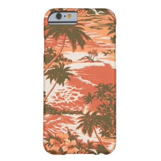 Caso hawaiano del iPhone 6 de la bahía de Napili Funda Barely There iPhone 6