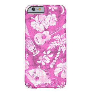 Caso hawaiano del iPhone 6 del batik de la playa Funda De iPhone 6 Barely There