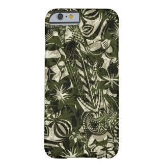 Caso hawaiano del iPhone 6 del comerciante de Tiki Funda De iPhone 6 Slim