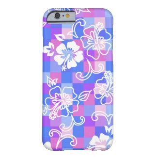 Caso hawaiano del iPhone 6 del hibisco del tablero Funda De iPhone 6 Barely There