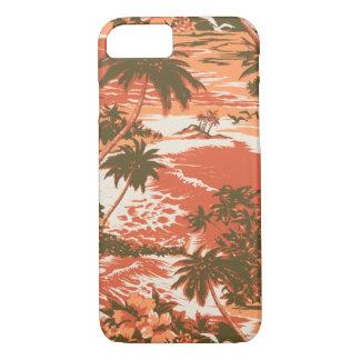 Caso hawaiano del iPhone 7 de la bahía de Napili Funda iPhone 7