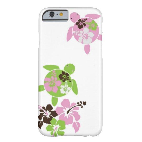 Caso hawaiano dulce del iPhone 6 de Honu Funda Barely There iPhone 6