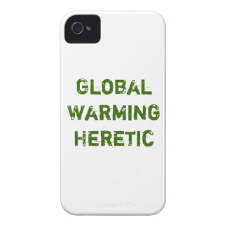 Caso herético del calentamiento del planeta carcasa para iPhone 4 de Case-Mate