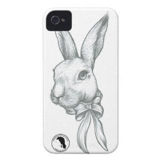 Caso hermoso de Iphone 4 del conejo iPhone 4 Carcasas