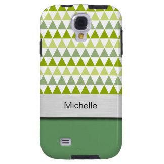 Caso hermoso de Smartphone del monograma Funda Galaxy S4